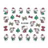 Vianočná glitrová nálepka na nechty 938 NechtovyRAJ.sk - Daj svojim nechtom všetko, čo potrebujú
