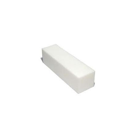 Brúsny blok na nechty - biely 120/120