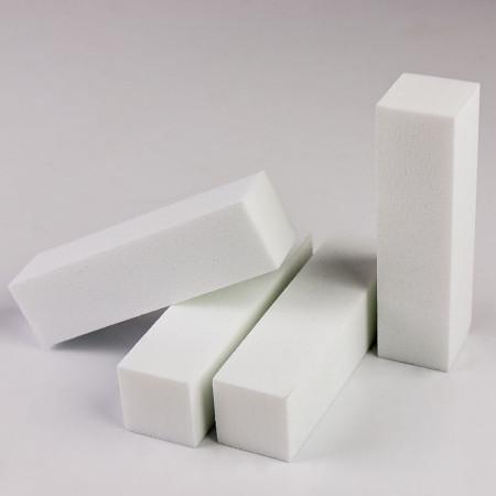 Brúsny blok na nechty - biely 180/180