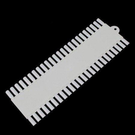 Vzorkovník obdĺžnik naturálny 48 ks nechtovyraj