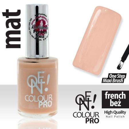 Lak na nechty One Colour - Francúzska béžová