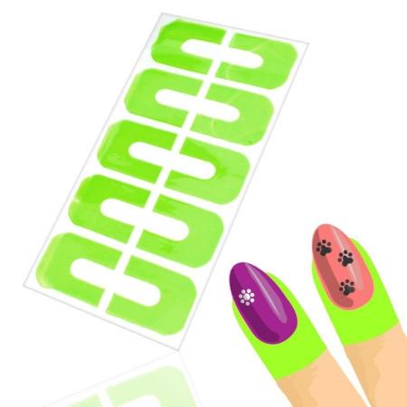 Ochranné nálepky na prsty - zelené