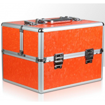 Kozmetický kufrík 335 oranžový - NechtovyRAJ.sk