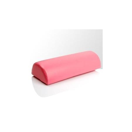 Podložka pod ruku - ružová koženková nechtovyraj