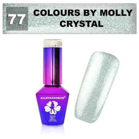 77. Gél lak na nechty Colours by Molly 10 ml