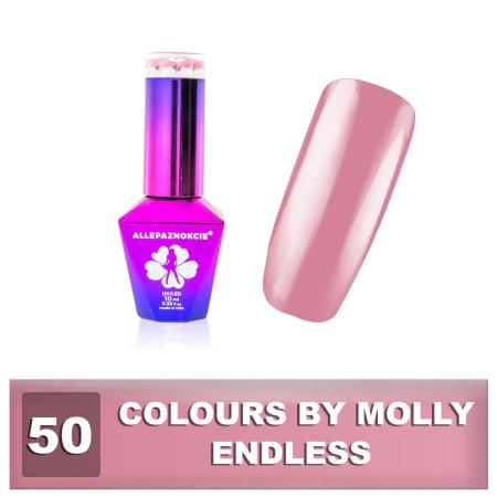 50. Gél lak na nechty Colours by Molly 10 ml