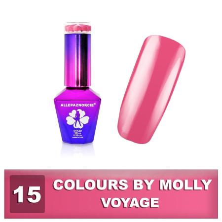 15. Gél lak na nechty Colours by Molly  10 ml -NechtovyRAJ.sk
