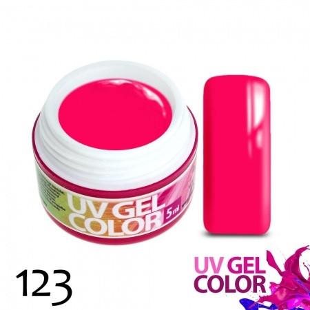 Neonový gél ružový 123 5g NechtovyRAJ.sk - Daj svojim nechtom všetko, čo potrebujú