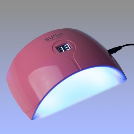 SUNS - UV/LED lampa- 24 W ružová so senzorom a displejom - NechtovyRAJ.sk