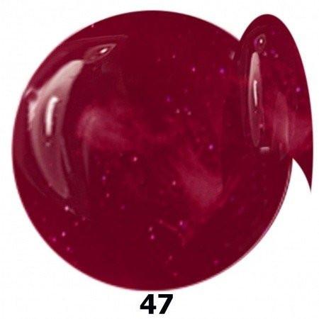 NTN farebný gél lak 47 bordový 6ml NechtovyRAJ.sk - Daj svojim nechtom všetko, čo potrebujú