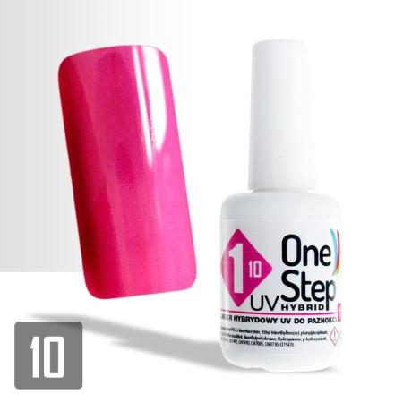 27. Gél lak One step NR 3v1 15 ml - ružový- NechtovyRAJ.sk