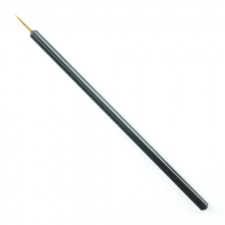 Štetec na zdobenie nechtov čierny 15 mm