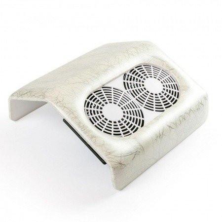 Odsávačka prachu 48 w s dvojitým ventilátorom - biely mramor