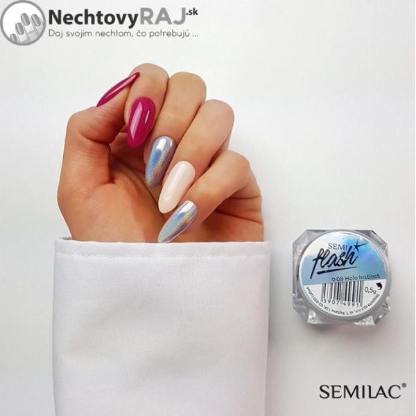 SemiFlash Holo Instinct 08 NechtovyRAJ.sk - Daj svojim nechtom všetko, čo potrebujú