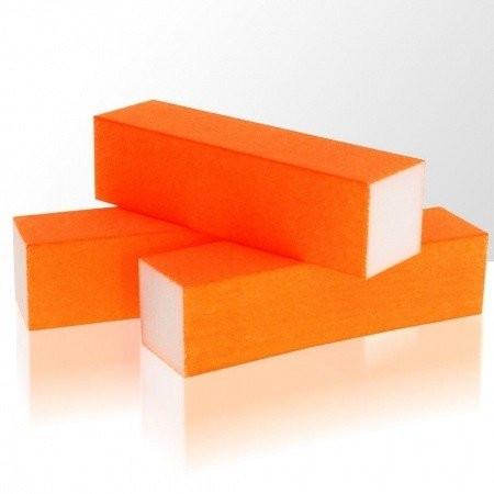 Brúsny blok - neón oranžová 100/100 NechtovyRAJ.sk - Daj svojim nechtom všetko, čo potrebujú