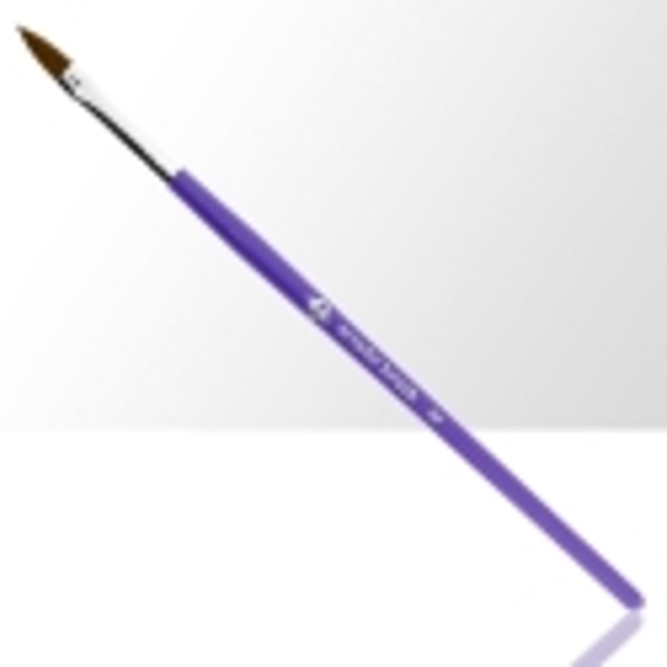 NechtovyRAJ štetec na akryl č. 8 - fialový
