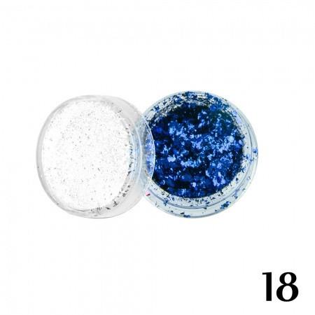 18. Ozdoby out of space - modré - NechtovyRAJ.sk