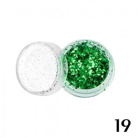 19. Ozdoby out of space - zelené - NechtovyRAJ.sk