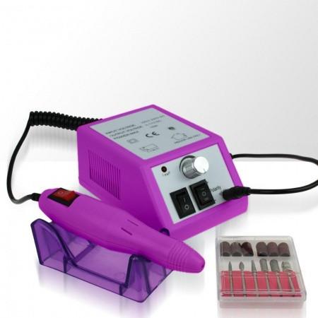 Akcia - Elektrická brúska na nechty CT 1203 - ružovo fialová