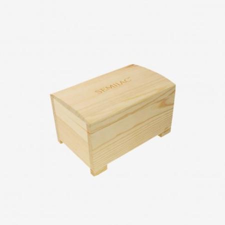 Semilac drevený kufrík na laky NechtovyRAJ.sk - Daj svojim nechtom všetko, čo potrebujú