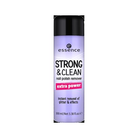 Essence odlakovač na nechty Strong and Clean 02 - NechtovyRAJ.sk