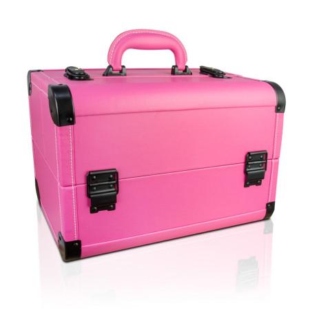 NechtovyRAJ kozmetický kufrík s eko kože - ružový - NechtovyRAJ.sk