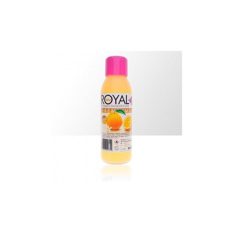 Odlakovač Royal premium - bezacetónový - vôňa pomaranč, 100ml