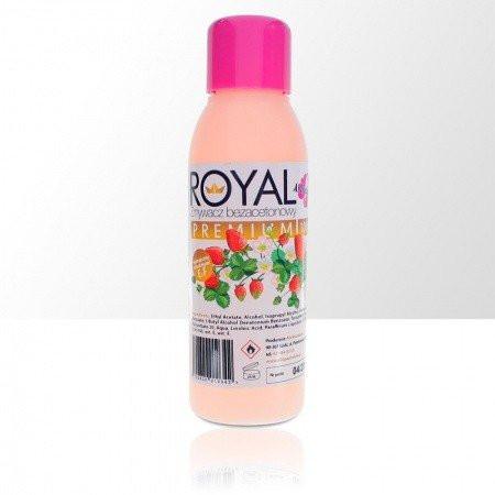 Odlakovač Royal premium - bezacetónový - vôňa jahoda, 100ml NechtovyRAJ.sk - Daj svojim nechtom všetko, čo potrebujú
