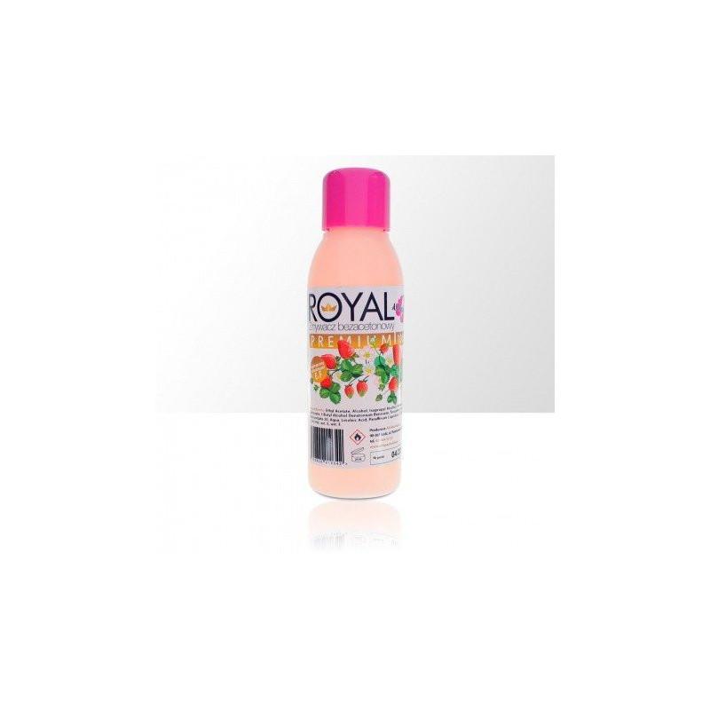 Odlakovač Royal premium - bezacetónový - vôňa jahoda, 100ml