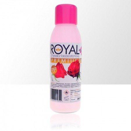 Odlakovač Royal premium - bezacetónový - vôňa ruža, 100ml NechtovyRAJ.sk - Daj svojim nechtom všetko, čo potrebujú