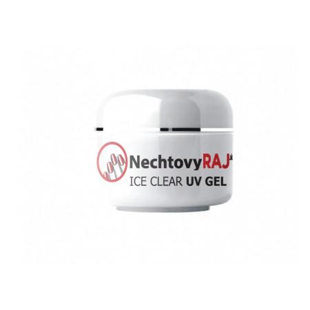 NechtovyRAJ uv gél ice clear 30g - pre citlivé nechty - NechtovyRAJ.sk
