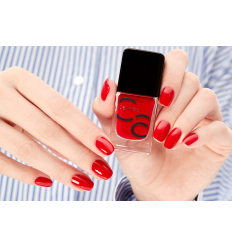 Catrice ICONails gel Lacque lak na nechty 05 Its All About That Red 10,5 ml