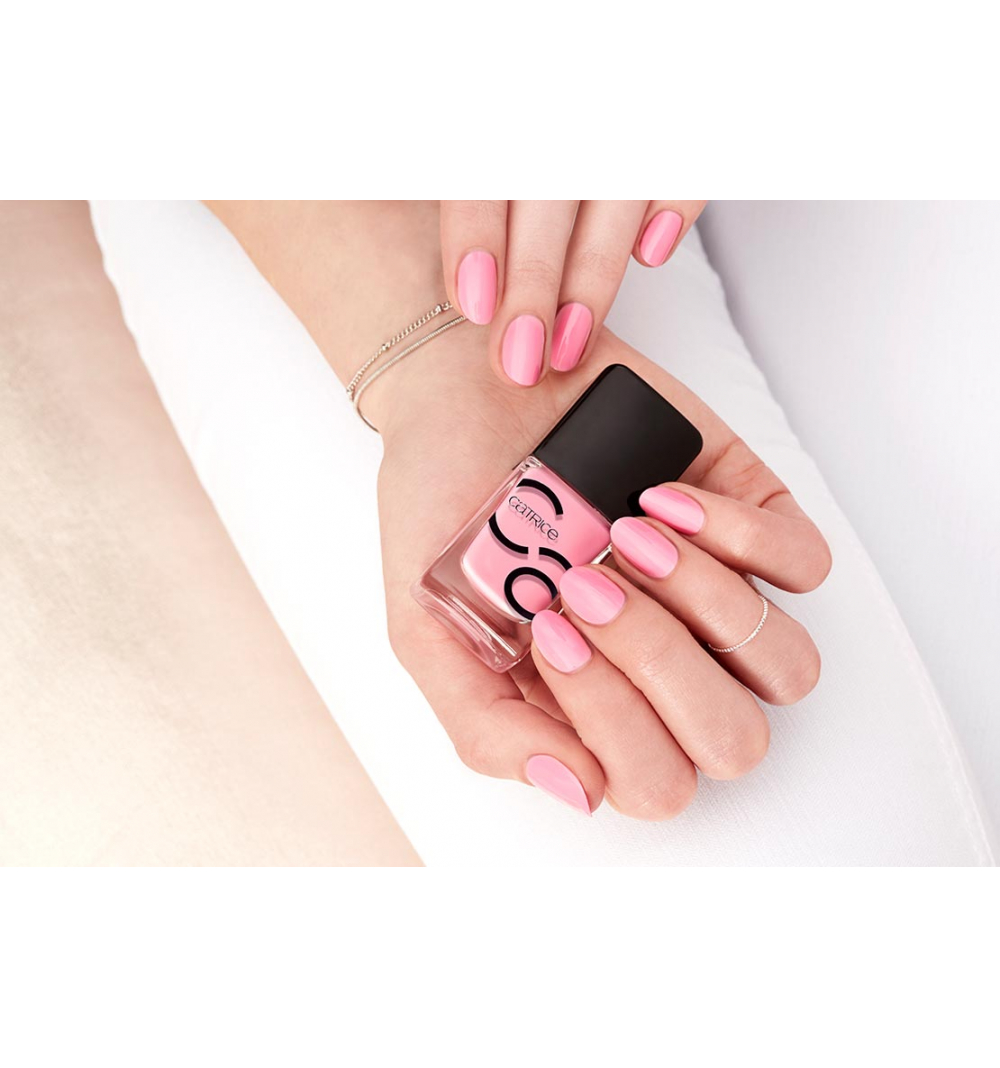 Catrice ICONails gel Lacque lak na nechty 30 Keep Calm And Pink 10,5 ml