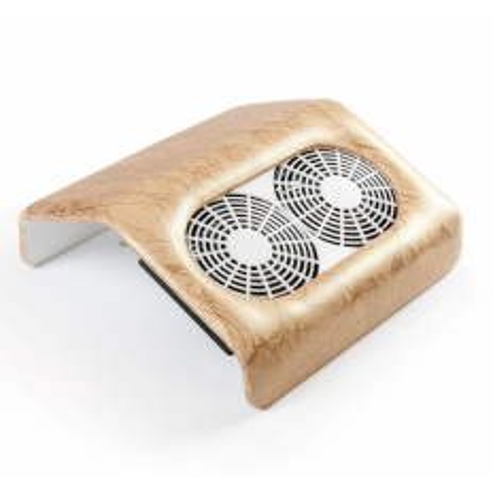 Odsávačka prachu 48 w s dvojitým ventilátorom - zlatý mramor