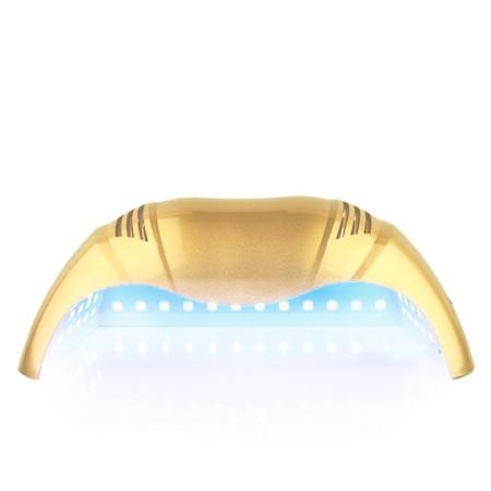 UV - LED LAMPA na dve ruky 72 W - zlatá - NechtovyRAJ.sk
