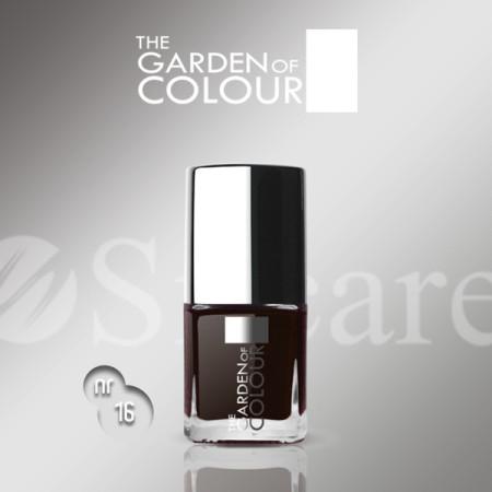 Silcare lak na nechty 16 Garden of Colour 9 ml - hnedý