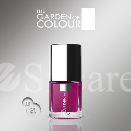 Silcare lak na nechty 21 Garden of Colour 9 ml - ružový - NechtovyRAJ.sk