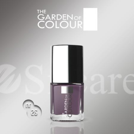 Silcare lak na nechty 26 Garden of Colour 9 ml - fialový