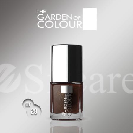 Silcare lak na nechty 28 Garden of Colour 9 ml - hnedý NechtovyRAJ.sk - Daj svojim nechtom všetko, čo potrebujú