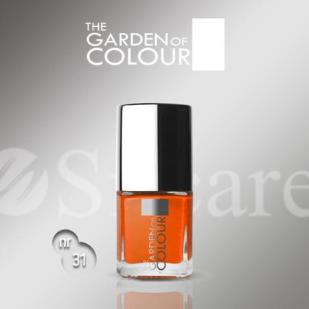 Silcare lak na nechty 31 Garden of Colour 9 ml - oranžový NechtovyRAJ.sk - Daj svojim nechtom všetko, čo potrebujú