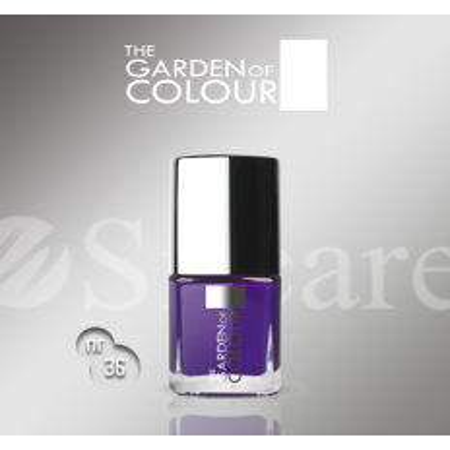 Silcare lak na nechty 36 Garden of Colour 9 ml - Fialový