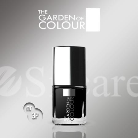 Silcare lak na nechty 37 Garden of Colour 9 ml - čierny