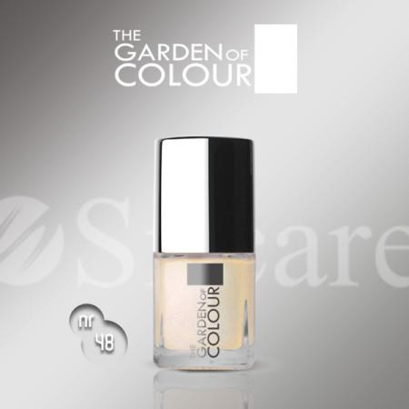 Silcare lak na nechty 48 Garden of Colour 9 ml - Biela NechtovyRAJ.sk - Daj svojim nechtom všetko, čo potrebujú