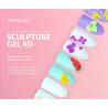 Semilac sculpture UV gél 4D Blue 5 g NechtovyRAJ.sk - Daj svojim nechtom všetko, čo potrebujú