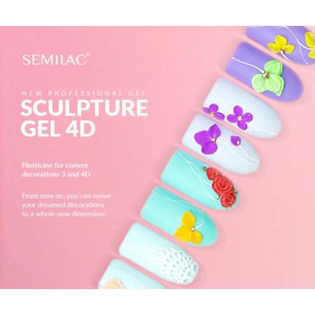 Semilac sculpture UV gél 4D Brown 5 g - NechtovyRAJ.sk