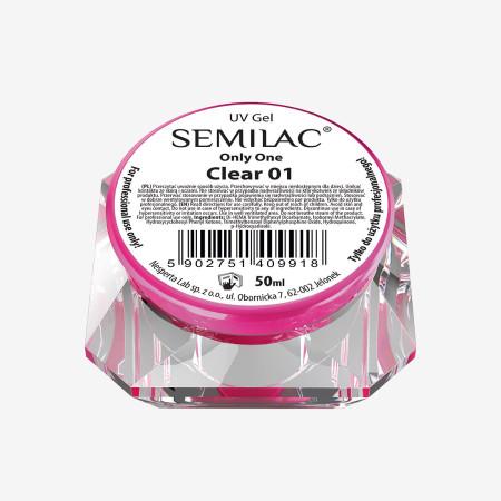 Semilac ONLY ONE uv gél clear 50 ml NechtovyRAJ.sk - Daj svojim nechtom všetko, čo potrebujú