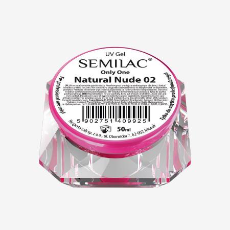 Semilac ONLY ONE uv gél Nude 02 50 ml-NechtovyRAJ.sk