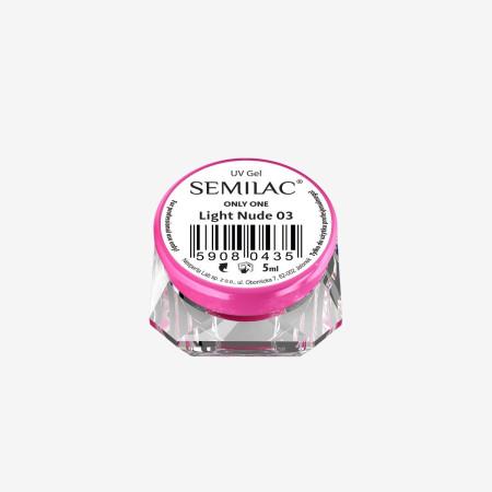 Semilac ONLY ONE uv gél Light 0Nude 03 5 ml - NechtovyRAJ.sk