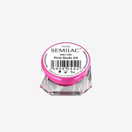 Semilac ONLY ONE uv gél Pink Nude 04 5 ml NechtovyRAJ.sk - Daj svojim nechtom všetko, čo potrebujú
