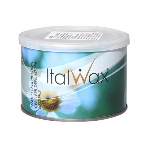 ItalWax depilačný vosk v plechovke Azulén 400 ml
